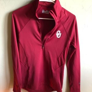 OU under armour pullover